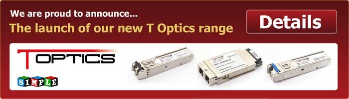 Simple Technology announce the launch of their new optical tranceivers, T Optics.